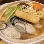 Isaribi - カキ鍋(980円)サイズも大きなカキでした