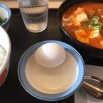 松屋 - 料理写真:キムチチゲ膳(税込590円)(2017.12現在)