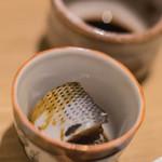 食事 太華 - 小鰭(こはだ)芥子漿醤(からしゞやうゆ)