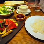 ビストロ 熟肉 - 【平日限定】熟成肉ランチセット