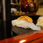 宝寿司分店 - 烏賊と雲丹