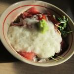 八の〇 - 【ミニマグロ丼 680円】