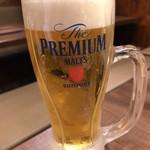 房家 - 生ビール中