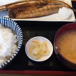 魚勝 - 焼き魚定食780円税込