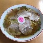 三吉屋 - 焼豚めん