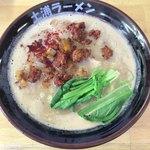 土浦ラーメン - 料理写真:限定 鶏白湯+タンタンメン(¥1,190)