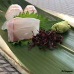 花がすみ - 料理写真:平鱸の造り