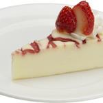 岡山珈琲館 クラブラティエ - イチゴのチーズケーキ