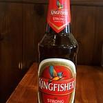 チョウタリ - ドリンク写真:【人気のインドビール】キングフィッシャーストロング ¥500