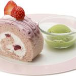 岡山珈琲館 - セットケーキ