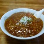 八宝飯店 - トロトロラーメン(激辛)
