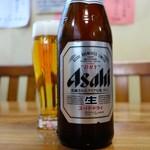 八宝飯店 - 「辛さ」を中和するには水よりビール(これ本当です)