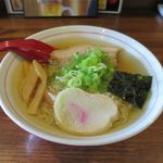 晩酌屋 さんすけ - さんま節ラーメン塩(700円)