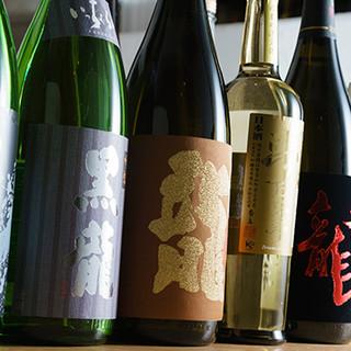 日本酒は福井の酒のみ!「黒龍」など人気銘柄の希少な1本も