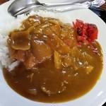ゆりや食堂 - カツカレー 650円