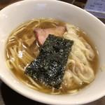 麺屋はやしまる - 少なめわんたんめん(醤油) ¥830