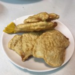 兆楽 - 豚肉の天ぷら