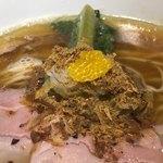 Japanese Soba Noodles 蔦 - ウルメイワシの削り節に柚子