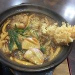 篠嶋屋 - 天ぷら入り味噌煮込みうどん