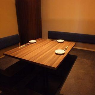 個室3名様×1
