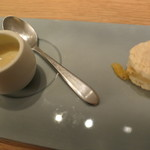 LIAISON - 甘薩摩芋のヴルーテ