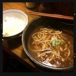 慶屋 - カレーうどんライス付き