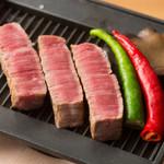 特選A5ランク和牛のステーキ