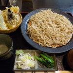 そば処 柿屋  - もりそば(550円)_2011-05-20