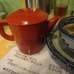 めんや宮田 - 2011年5月21日再訪 スープ割りのダシ