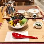 中村藤吉本店 - 毎回思いますが、美味しいお茶も無料でいただけて、銀座でこの価格は良心的!