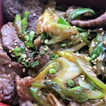 漢方牛 三代目関村 - 漢方牛ばら肉重