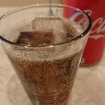 ピッツェリア ダ ティグレ - ランチPizzaにはコーラですね(^-^)v  ¥150