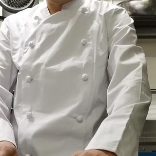 和食とイタリアンで修行したシェフが作る料理とは?