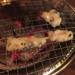 焼肉・塩ホルモン 三ちゃん - 上ミノ