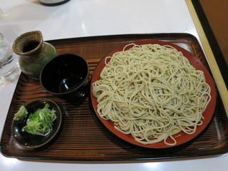 そば処 喜久 - もり 500円(2018年1月)