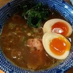 秋葉原ラーメン わいず - 特製つけ麺(大)つけ汁 2018年1月11日