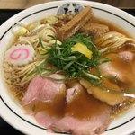 京都 麺屋たけ井 - 豚骨ちんたん。すっきり不思議。美味しい