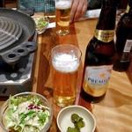 松尾ジンギスカン - ノンアルコールビール