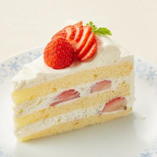 国産苺をたっぷり使った『苺のゴロゴロショートケーキ』