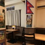 ネパール ミテリキッチンレストラン&バー - 内観2018年1月
