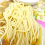 まるやま中華そば - 2017年10月 麺は普通~(´▽`)