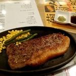 ジャンボステーキはらぺこや - 葡萄牛サーロインステーキ