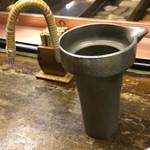 蛸長 - 燗酒