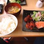 食堂酒場 酉かつ - 週替わり定食850円