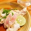 ひわさ屋 - 料理写真:2017年11月 阿波尾鶏ささみたたき