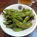 東京ミート酒場 - 枝豆のペペロンチーノ¥399