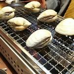 貝焼酒場 カイフォルニア - ハマグリ