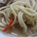 栄洋軒 - ・チャンポンの太麺