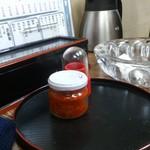 栄洋軒 - ・デカい灰皿が機能的