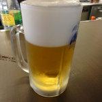 八っちゃん - 生ビール(中)
